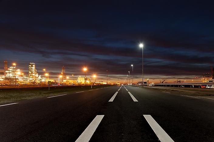 Nachtfotografie Maasvlakte (vrij werk)