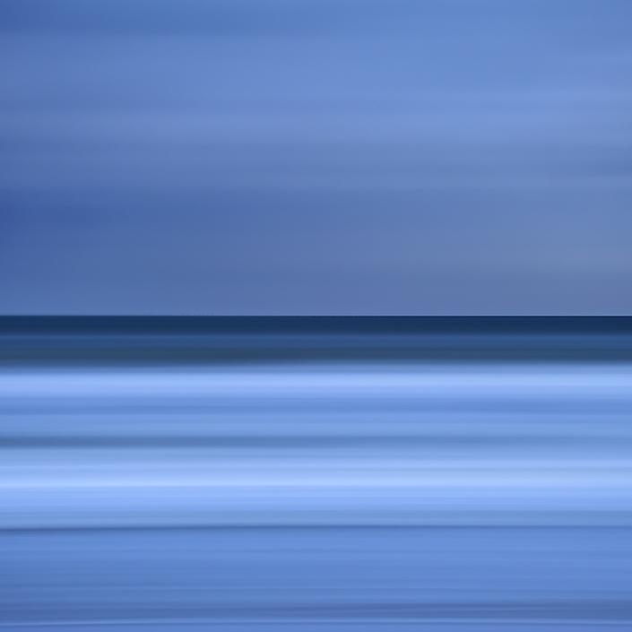 North Sea, Schoorl  X, 2018 from Stripes series