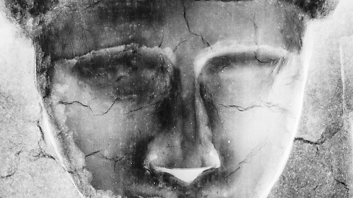 Deksel mummiekist, ogen. Rontgen, Rijksmuseum voor Oudheden