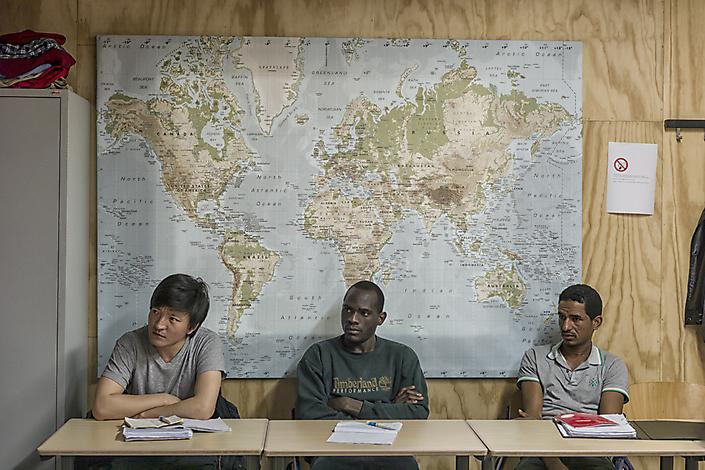 Het vluchtelingenklasje van Asscher