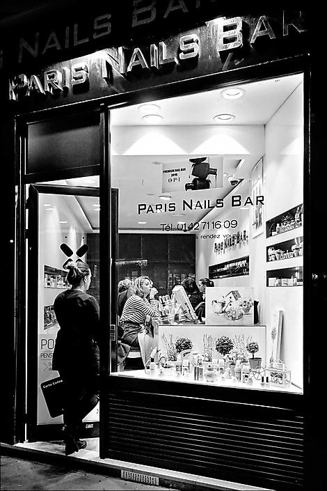 Parijs nagelstudio