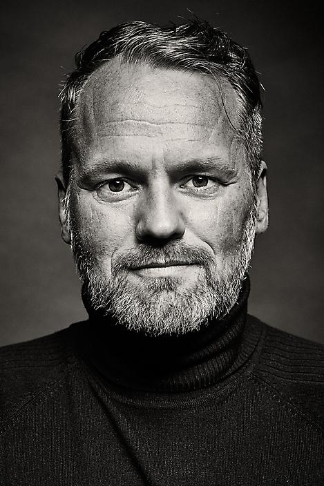 Peter Stolk studioportret