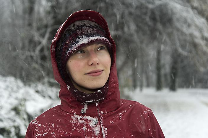 Sneeuw in het Rembrandtpark