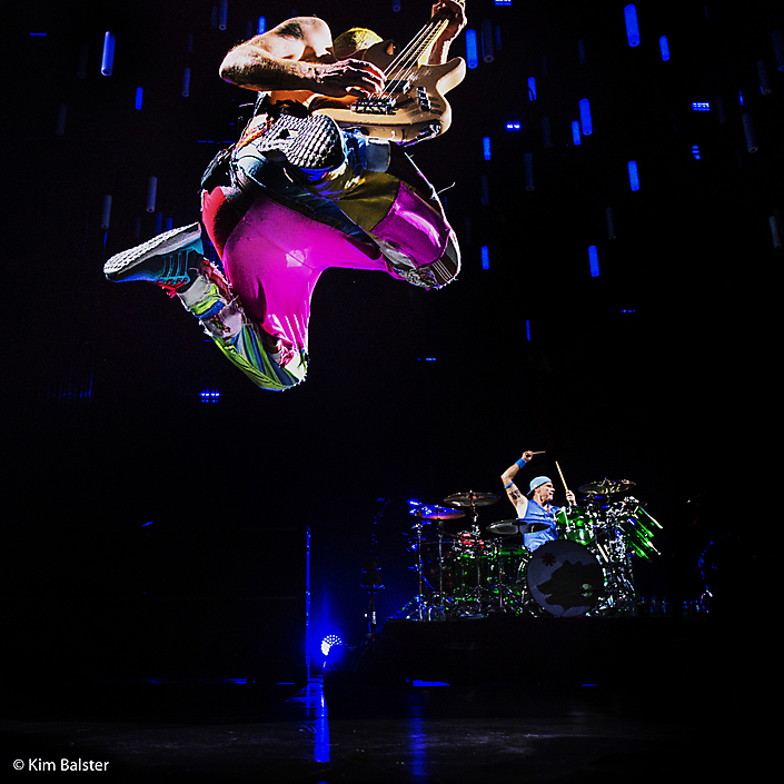 Red Hot Chilli Peppers-photo by Kim Balster
