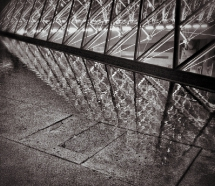 reflections du Louvre