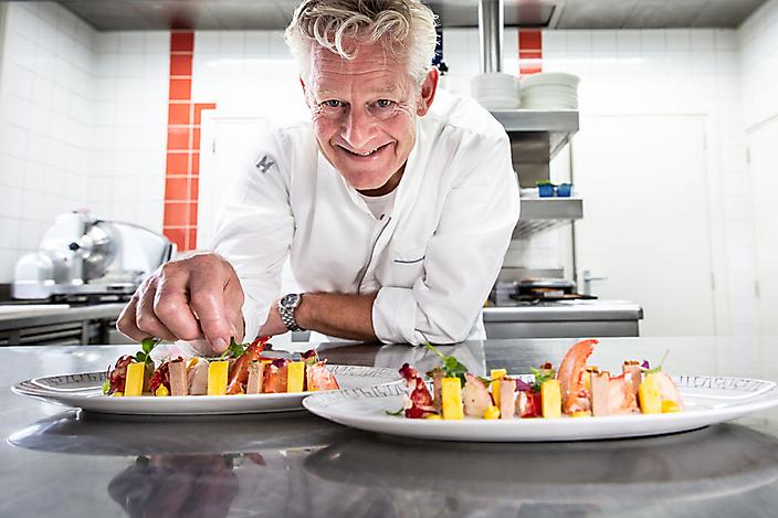 Sterrenchef Rene Tichelaar voor magazine De Smaak