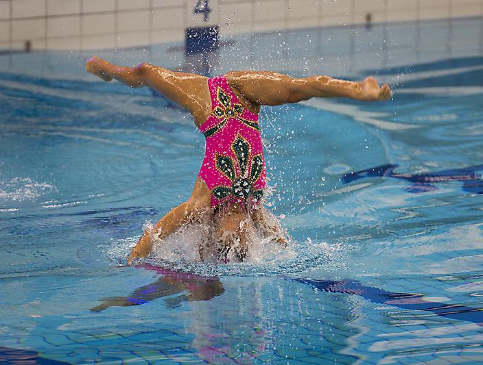 Topsport tijdens EK Synchroonzwemmen 2015