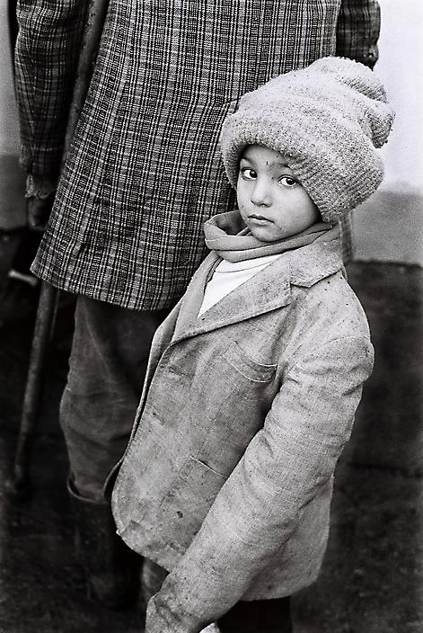 Roemenie Jongen in Plopeni
