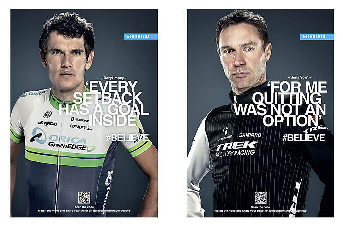 Shimano Believe Campagne