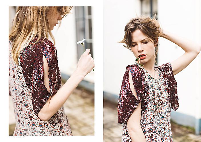 Sylvia Hoeks gefotografeerd voor The Next Closet © Iris Duvekot
