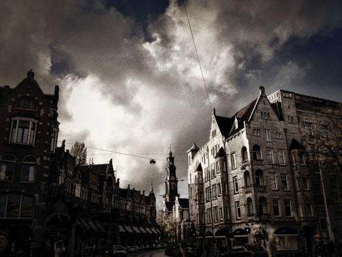 Raadhuisstraat en Westertoren