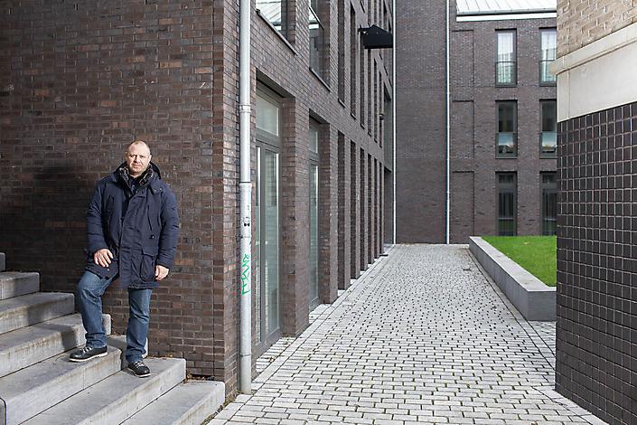 Filip Delanghe, architect & stedenbouwkundige.