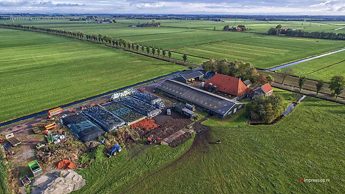 Agrarische fotografie Drone