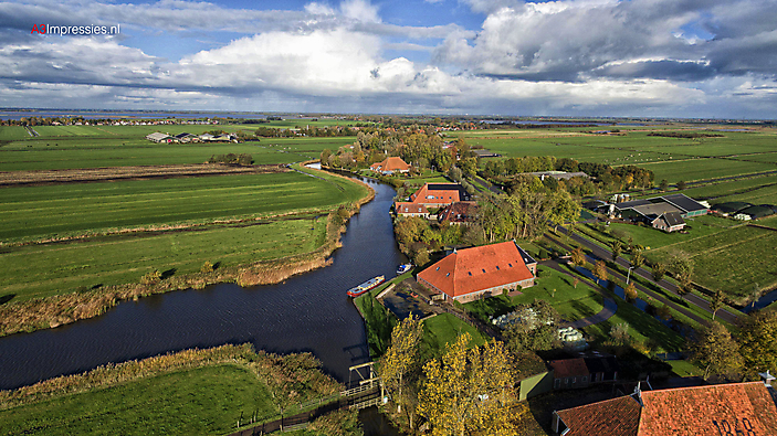 Friese meren Dronefotografie