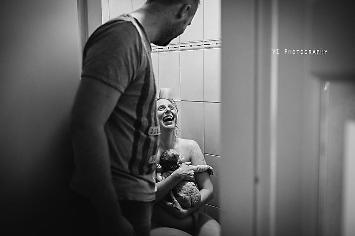 Per ongeluk op de wc bevallen zonder verloskundige